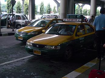 ドン・ムアン タクシー乗り場