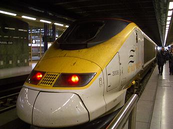 2005年12月27日 ロンドン→ブリュッセル
