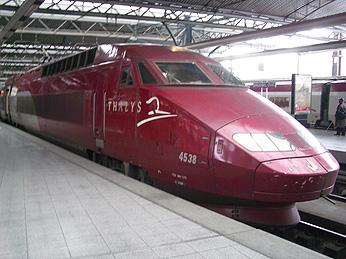 2005年12月30日 ブリュッセル→パリ→東京