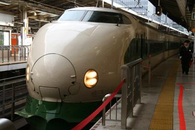Day1 モバイルSuicaで新幹線