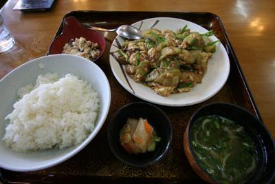 Day7-4 「道の駅 許田」 近くのローカル食堂