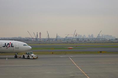 Day1-1 工事が進む新国際線ターミナル