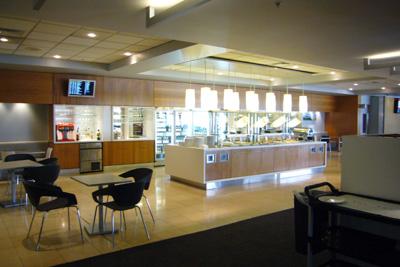 Day4-1 オークランド空港のナイスな国内線ラウンジ