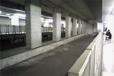 有楽町線豊洲駅の準備工事