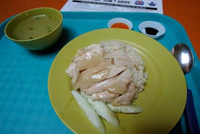 Day4-1 2度目の「天天海南鶏飯」- チキンライスを食う