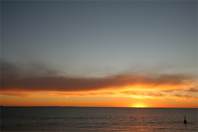 Day6-4 インド洋に沈む太陽
