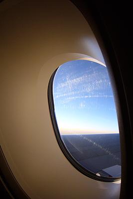 A380の窓