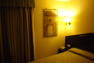 ナバスホテルの部屋